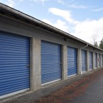 a row of blue storage doors please contact us